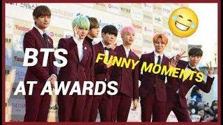 Download Video BTS funny moments at awards MP3 3GP MP4