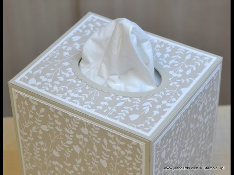 No.234 - Tissue Box Cover - JanB UK Stampin' Up! Demonstrator Independent
