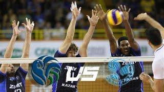 TOP 2 MEN'S CLUB TEAMS IN THE WORLD - Sada Cruziero vs. Zenit Kazan ALL BREAKS REMOVED