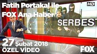 Çekya'ya Salih Müslim notası... 27 Şubat 2018 Fatih Portakal ile FOX Ana Haber