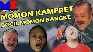 PERMOHONAN MASUK SQUAD KAMPR3T KE B0CIL MOMON, MINANG KOCAK & WAHYU HIDAYAT - PUBG MOBILE INDONESIA