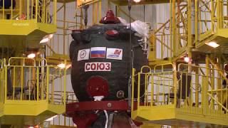 """ТПК """"Союз МС-11"""". Работы в МИКе"""