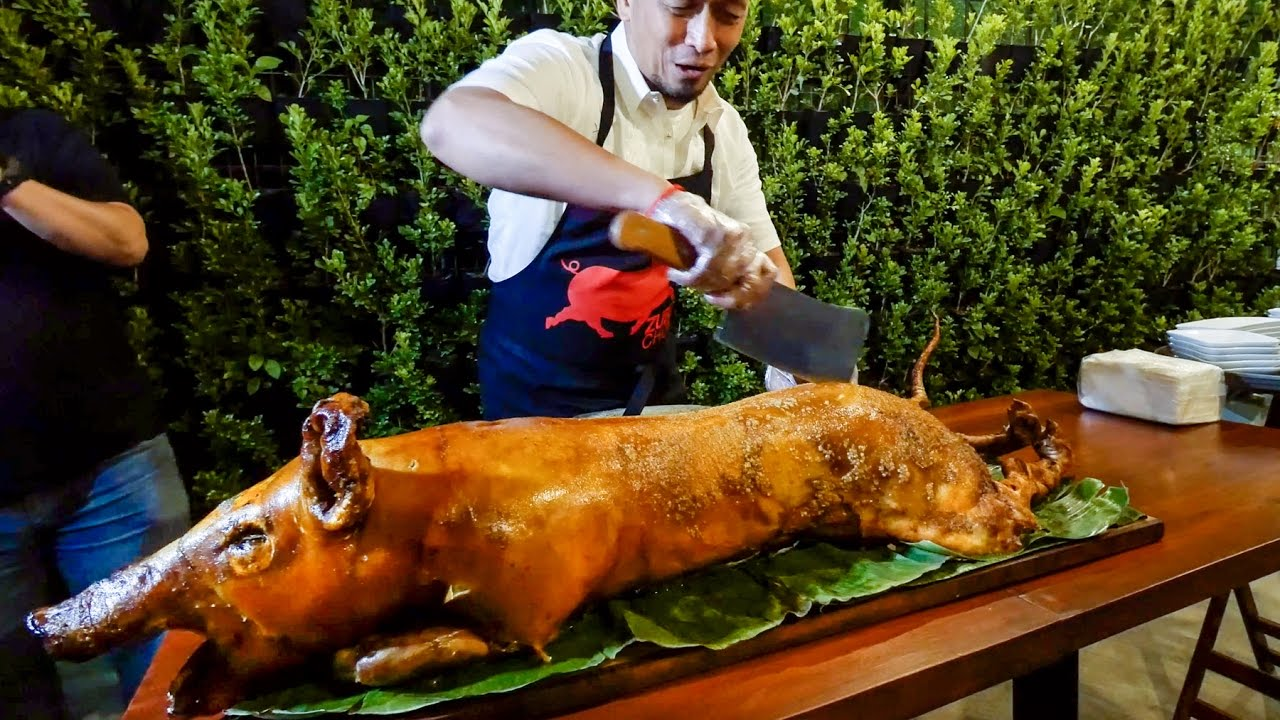 Download 15-Hour Filipino Food Tour in Pampanga & Manila, Philippines - HUGE LECHON with Makansutra!