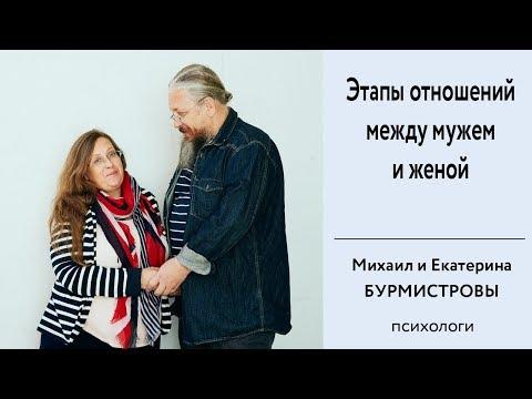 Этапы отношений между мужем и женой. Семейная психология.