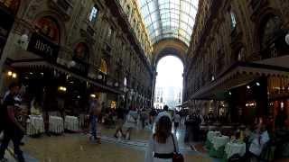 Piazza del duomo, milano (milan), italy. cycling europe. fatih aksoy,