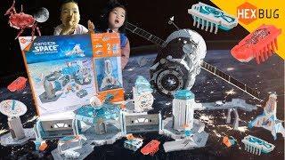 핵스버그 나노스페이스 우주사령부 우주탐험을 떠나자! 우주벌레  HEXBUG Nano Space Cosmic Command Toy