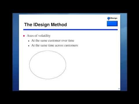 Architecture and the IDesign Method