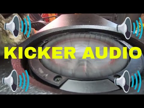 Kicker rt 6.75 subwoofer review