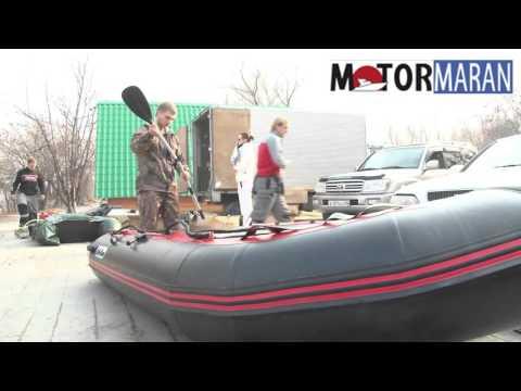 Обзор пвх лодки Санмарин (SMarine) SA365 серии strong