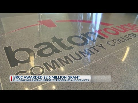 BRCC receives $2.6 million grant to expand programs, services for minority students