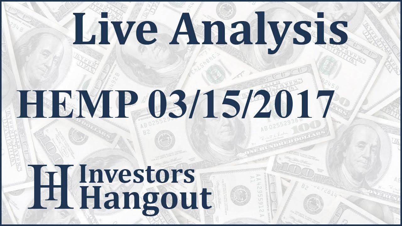 Hemp stock live analysis 03 15 2017 youtube hemp stock live analysis 03 15 2017 ccuart Image collections