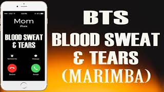 """Enjoy marimba remix of the latest song """"blood sweat & tears"""" as your ringtone: http://smarturl.it/bloodsweatntearsmnd best iphone ringtone song..."""