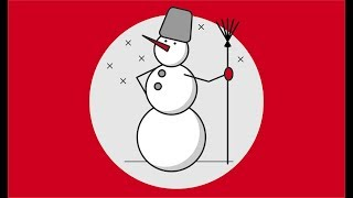 Смотри до конца урок. Много тонкостей  #howtodraw #какнарисовать #снеговик #corel #урокикорел