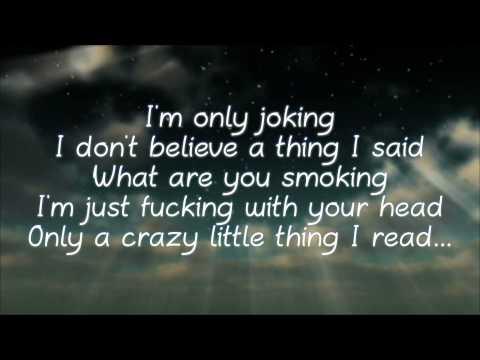 """I'm Only Joking"" Lyrics  by Kongos (Explicit)"