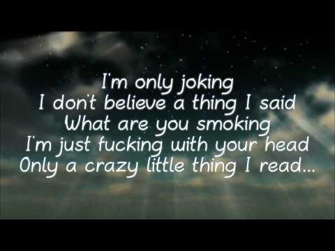 """I'm Only Joking"" Lyrics  by Kongos (Explicit)"