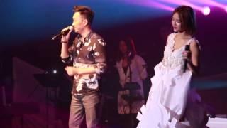 2016.4.13 方皓玟 Believe In Live 演唱會 方皓玟 + 鄭中基 - 睛天陰天雨天