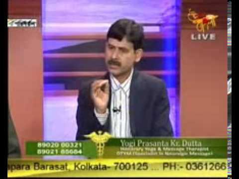 Dr Subhash Ch Majumder and Yogi Prasanta Kr. Dutta  attend tv prog on Uttar Bangla -2nd episode