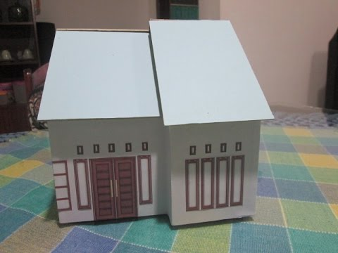 Tutorial Membuat Miniatur Rumah Minimalis Part 5 Youtube