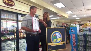 Winner of $105M lottery jackpot says he'll buy a plane