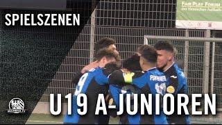 FSV Frankfurt - SV Wehen Wiesbaden (U19 A-Junioren, Hessenliga) - Spielszenen | MAINKICK.TV