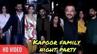 Bhaane's 5th Anniversary With Kapoor Family & Friends | Anil Kapoor, Sonam, Harshvardhan And Others