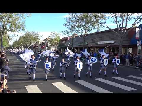 Benicia Middle School - Foothill Band Review - 2018