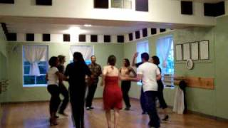 Fruko's Boogaloo -- Casino Rueda routine with SSS (practice session)