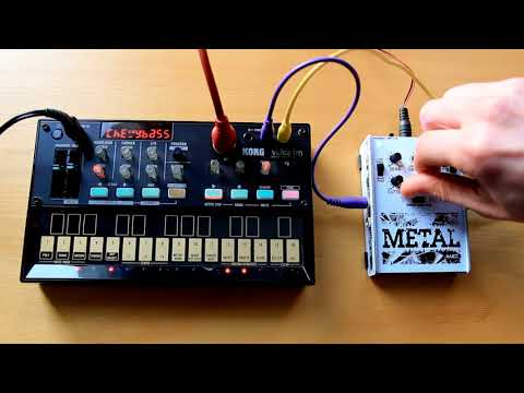 Rakit Metal Synth with Volca FM