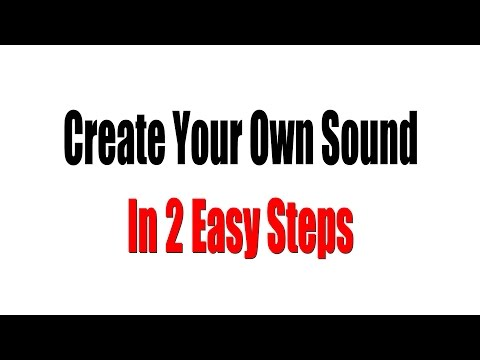 "Music Producer Tips: How To Create ""Your Sound"" Using A Simple 2 Step Process"