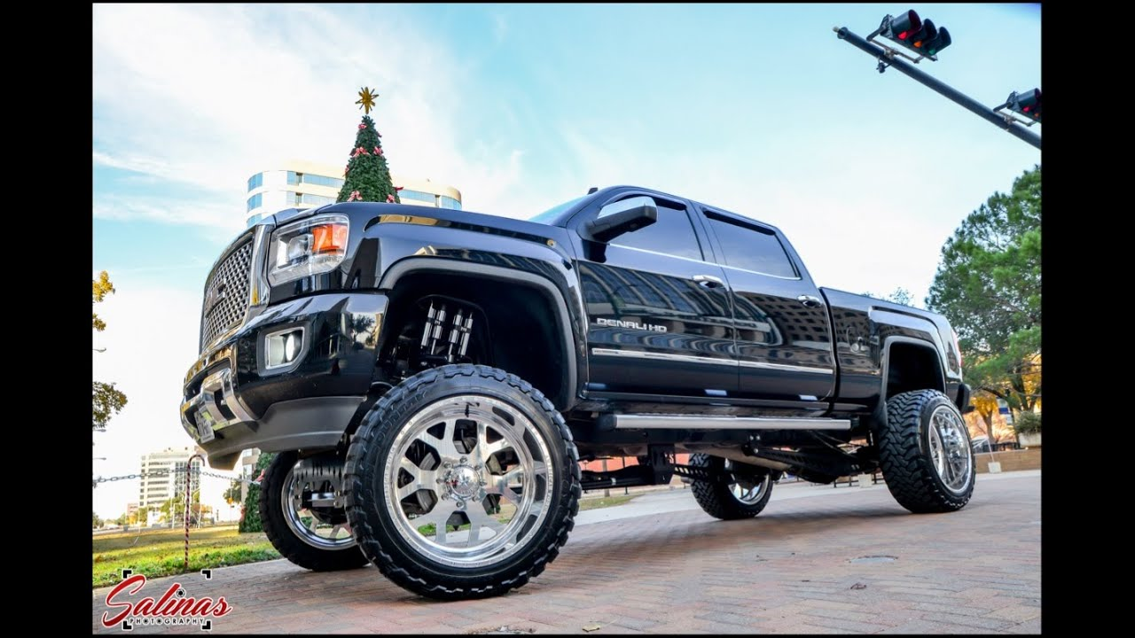 New 2015 Gmc Denali On 12 Inch Lift By Fts On 24 By 12