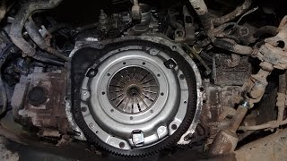Subaru Forester Clutch Replacement
