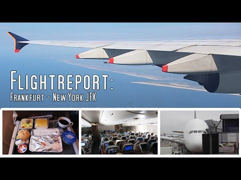 ✈FLIGHT REPORT✈ Singapore Airlines Airbus A380 | Frankfurt-New York (JFK) | Economy