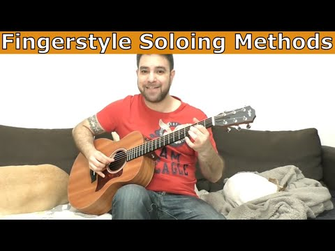 How to Solo without A Pick (Fingerstyle Soloing) Like Mark Knopfler and Chet Atkins - Guitar Lesson