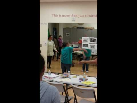 UELRP Inupiaq Immersion camp dance pt 3