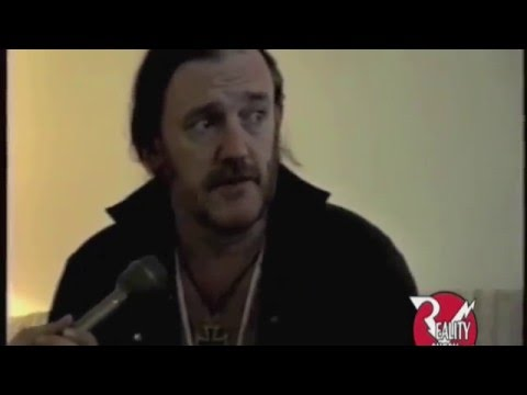 Motorhead & Lemmy interview at Foundations Forum '95 Part 1