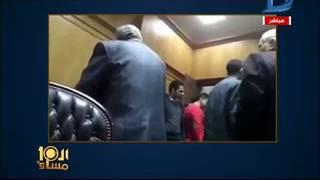 العاشرة مساء| مساومات جنسية وتعدي بالضرب على محامية داخل مجلس النقابة