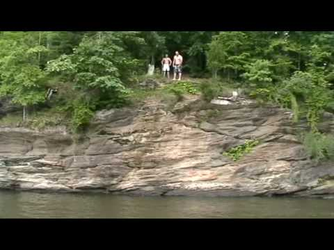 Cliff Jumping Falls Lake Raleigh NC