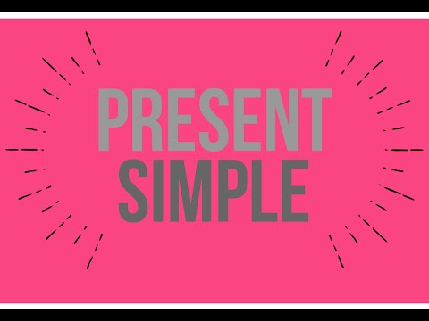 English Verb Tense - Present Simple Animated Lesson