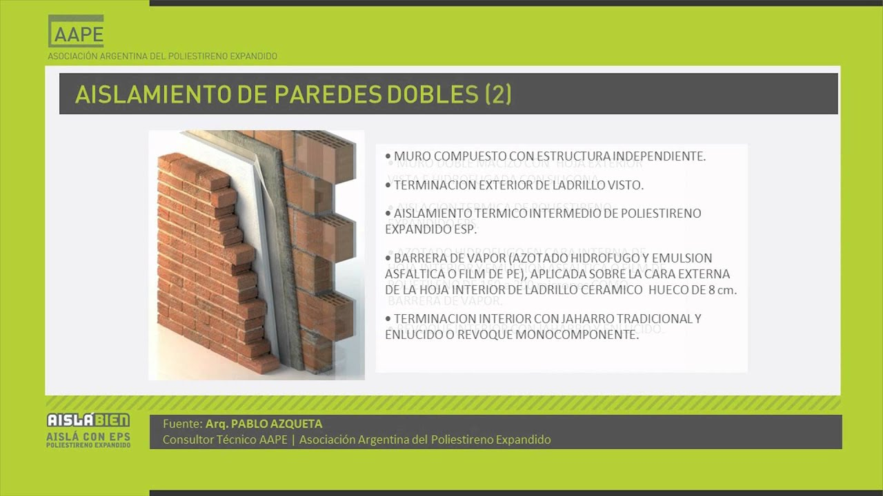 Aislaci n t rmica de la envolvente la clave para un - Cual es el mejor aislante termico para techos ...