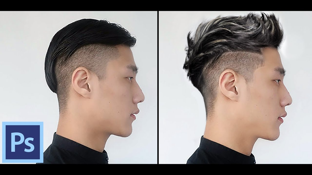 Photoshop Tutorial  Change/Creating Hairstyle In Photoshop