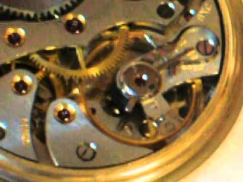 Ball Commercial 17 jewel pocket watch