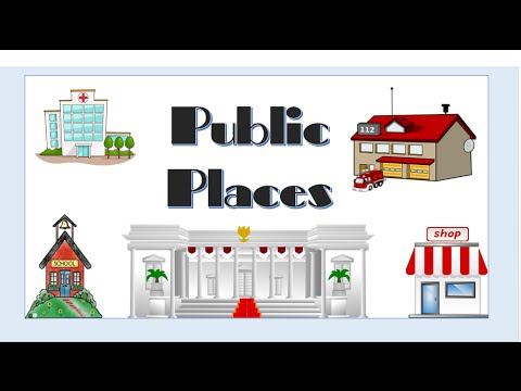 PUBLIC PLACES - English Language