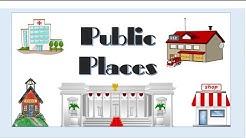 PUBLIC PLACES - English Language