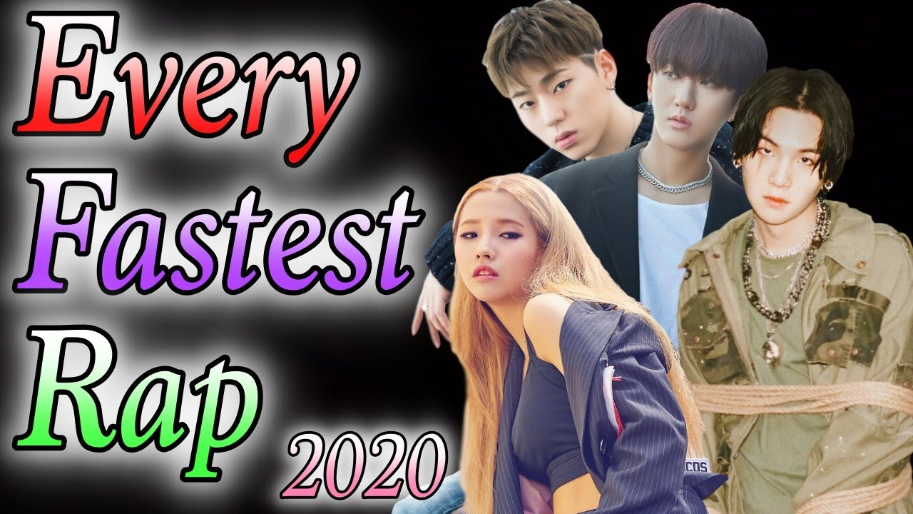 2020 Every Korean Rapper S Fastest Rap Compilation Youtube