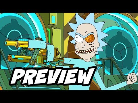 Download Youtube: Rick and Morty Season 3 Comic Con Interview