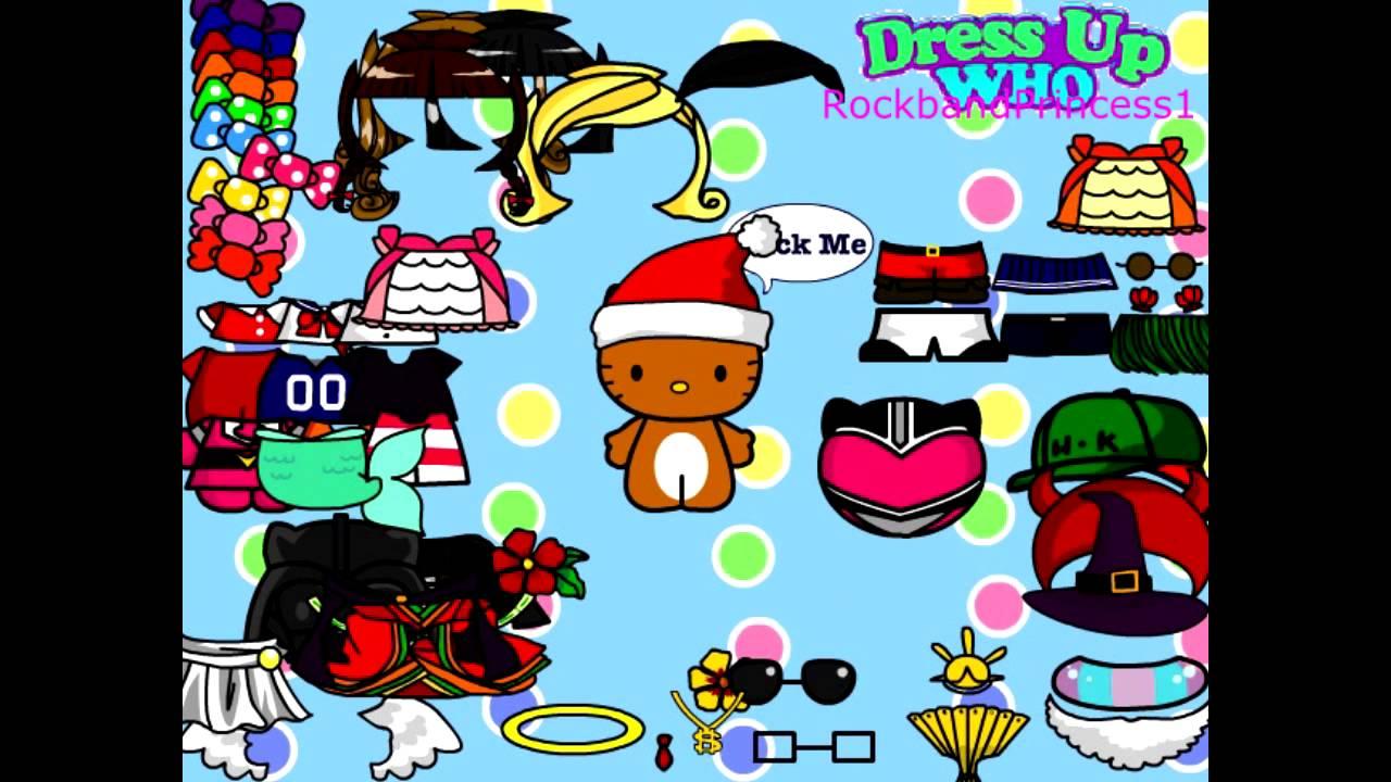 Hello Kitty Cartoon Game - Hello Kitty Dress Up Games ...