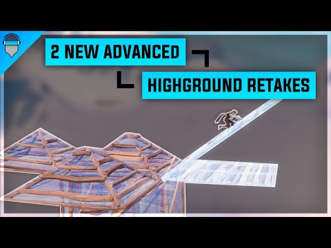 The 2 *NEW* Advanced  High Ground Retakes Tutorial! Fortnite Creative Building Drills