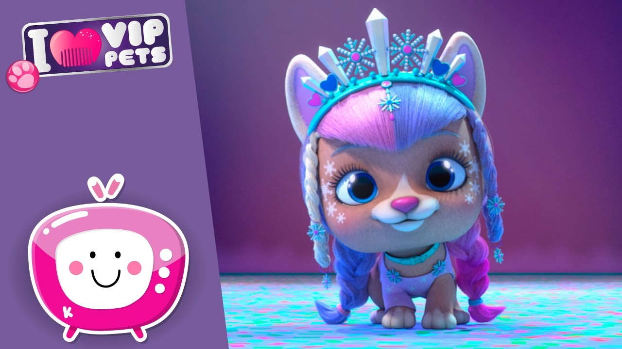 Download ❄️🤩 ICE Skating TALENT 🤩❄️ VIP PETS 🌈 NEW Episode 💖 CARTOONS for KIDS in ENGLISH