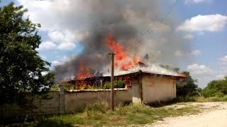 Пожар в село Кюлевча - 22.05.2018 13:00 часа