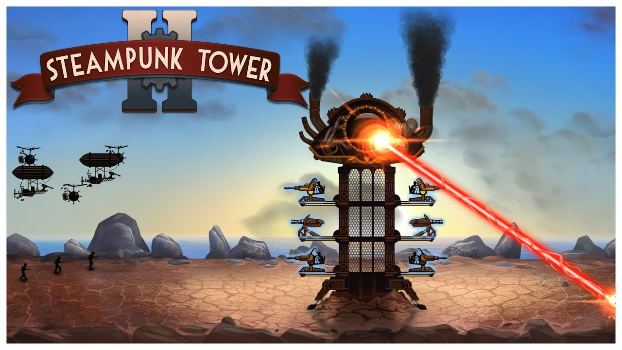Steampunk Tower 2